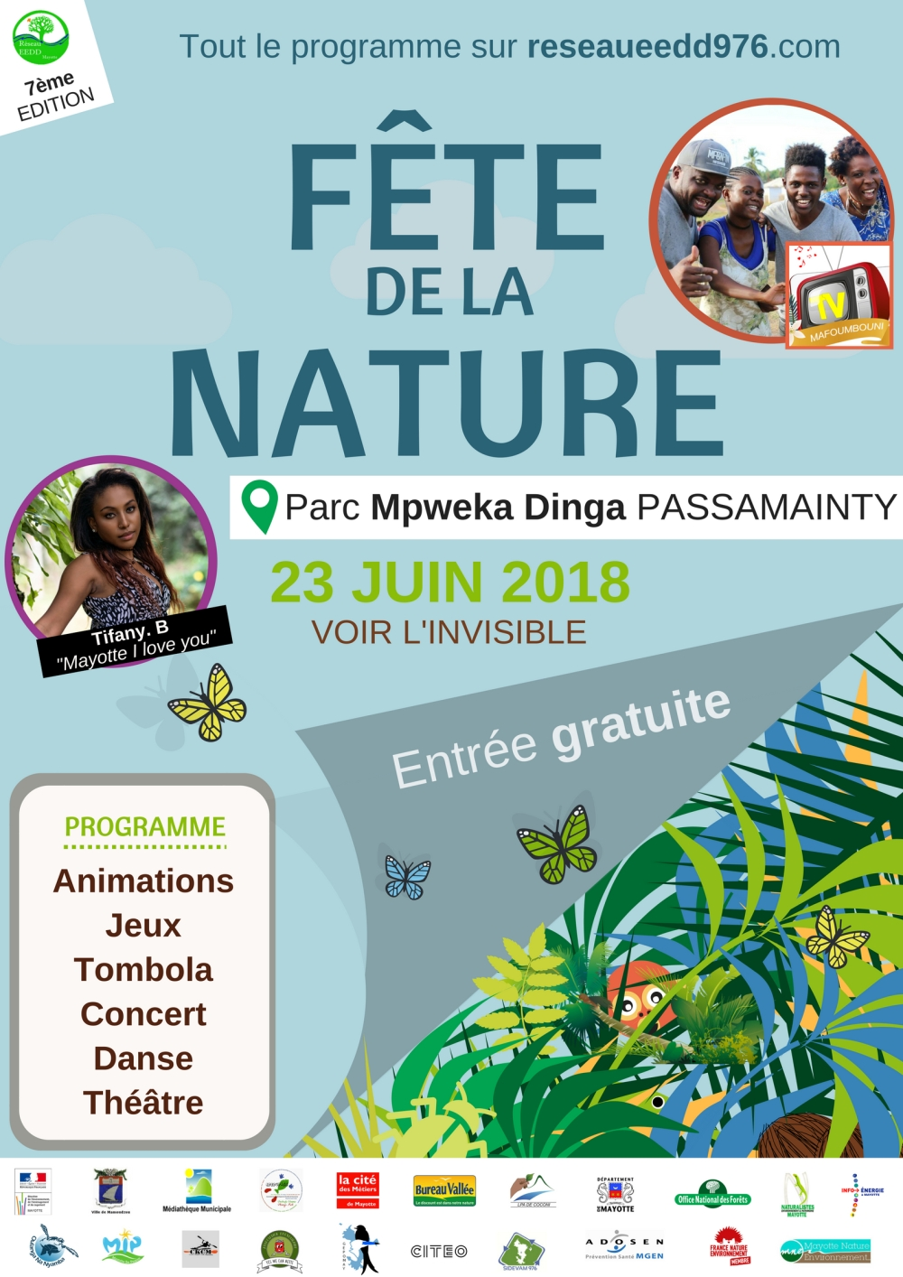 AFFICHE OFFICIELLE FETE DE LA NATURE 2018