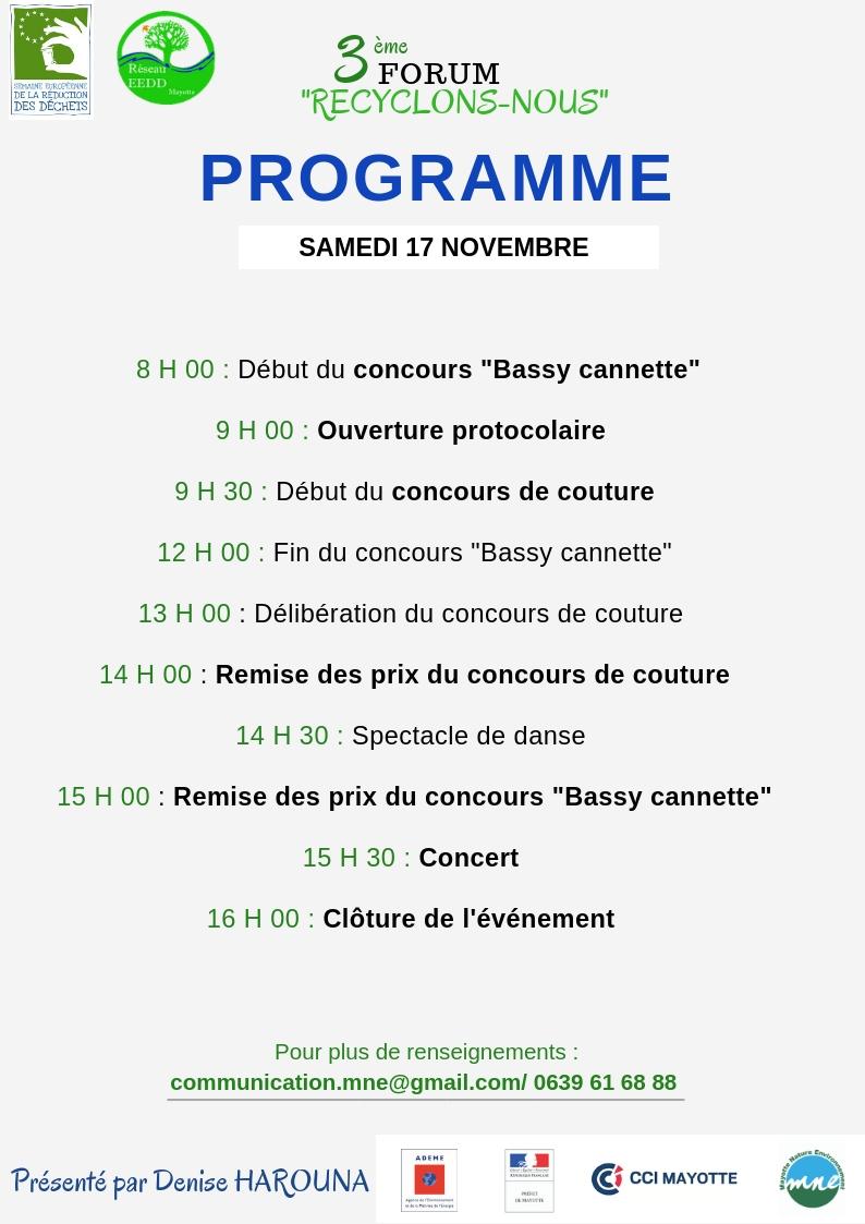 programme public forum